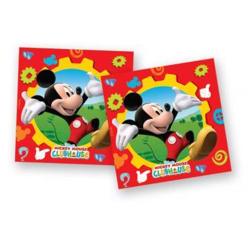 Servetele party Mickey Clubhouse - Pret | Preturi Servetele party Mickey Clubhouse