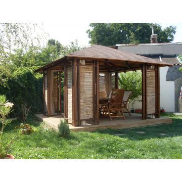 Pavilion din lemn pentru gradina