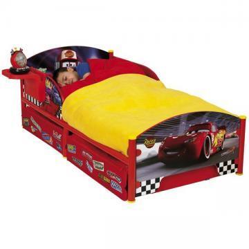 "Patut copii ""Disney Cars"" din pal imprimat si structura metalica. - Pret   Preturi Patut copii ""Disney Cars"" din pal imprimat si structura metalica."