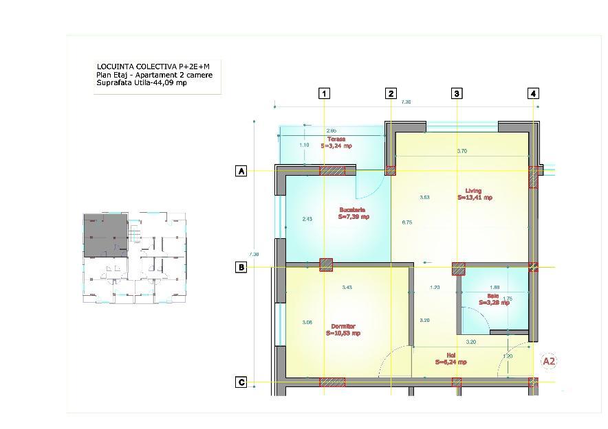 Apartament 2 camere 50mp dressing 2 balcoane, parcare,curte amenajata - Pret | Preturi Apartament 2 camere 50mp dressing 2 balcoane, parcare,curte amenajata