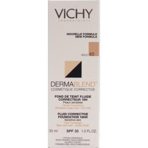 VICHY Dermablend Fond de Ten Corector 45 Gold 30ml