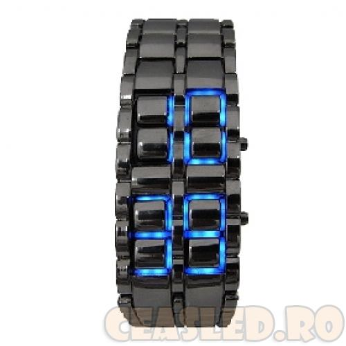 Super ceas led-uri Iron Samurai Lava blue / albastru barbati! 2,5 cm latime! - Pret | Preturi Super ceas led-uri Iron Samurai Lava blue / albastru barbati! 2,5 cm latime!