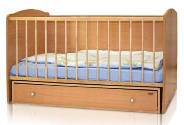 Bertoni - Pat lemn balansoar Joy 70 x 140 cm + cearceaf de pat cadou - Pret | Preturi Bertoni - Pat lemn balansoar Joy 70 x 140 cm + cearceaf de pat cadou