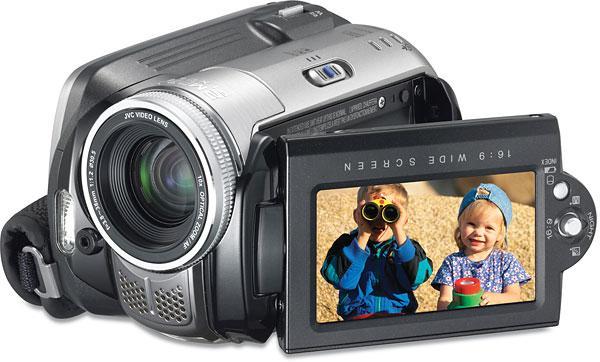 Camera Video Digitala JVC cu Hard Disc si 2,2 Mega Pixeli - Pret | Preturi Camera Video Digitala JVC cu Hard Disc si 2,2 Mega Pixeli