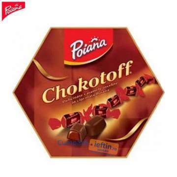 Caramele in ciocolata Poiana Chokotoff 285 gr - Pret | Preturi Caramele in ciocolata Poiana Chokotoff 285 gr