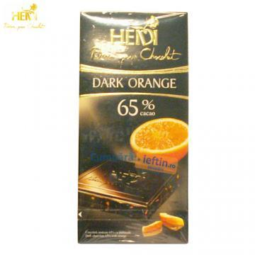 Ciocolata Heidi Dark Orange 65% cacao 80 gr - Pret | Preturi Ciocolata Heidi Dark Orange 65% cacao 80 gr
