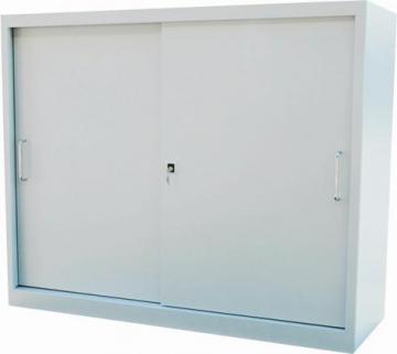 Dulap metalic usi culisante, 1200 x 420 x 820 mm, 1 polita - Pret | Preturi Dulap metalic usi culisante, 1200 x 420 x 820 mm, 1 polita