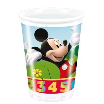 Mickey Mouse Plays With Numbers - Pahare Plastic, 200 ml (10 buc.) - Pret | Preturi Mickey Mouse Plays With Numbers - Pahare Plastic, 200 ml (10 buc.)