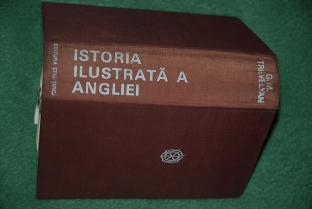 vand cartea ISTORIA ILUSTRATA A ANGLIEI - G.M.TREVELYAN - Pret | Preturi vand cartea ISTORIA ILUSTRATA A ANGLIEI - G.M.TREVELYAN