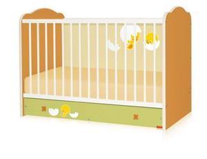 Bertoni - Pat lemn CLASSIC Multicolor 60 x 120 + cearceaf de pat cadou - Pret | Preturi Bertoni - Pat lemn CLASSIC Multicolor 60 x 120 + cearceaf de pat cadou