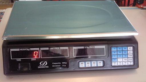 Cantar electronic de 30 kg NOU ! - Pret   Preturi Cantar electronic de 30 kg NOU !