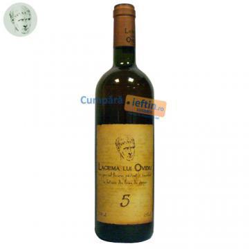 Vin demidulce Lacrima lui Ovidiu 5 ani 0.75 L - Pret | Preturi Vin demidulce Lacrima lui Ovidiu 5 ani 0.75 L
