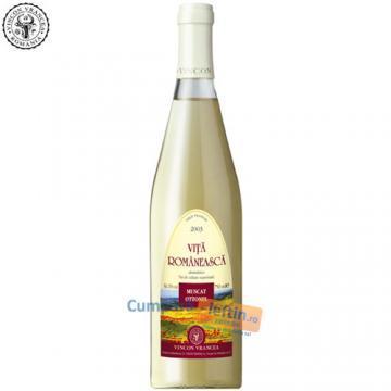 Vin demidulce Muscat Ottonel Vincon Vita Romaneasca 0.75 L - Pret | Preturi Vin demidulce Muscat Ottonel Vincon Vita Romaneasca 0.75 L