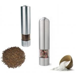 Rasnita electrica din inox cu iluminare pentru sare, piper si condimente - Pret | Preturi Rasnita electrica din inox cu iluminare pentru sare, piper si condimente
