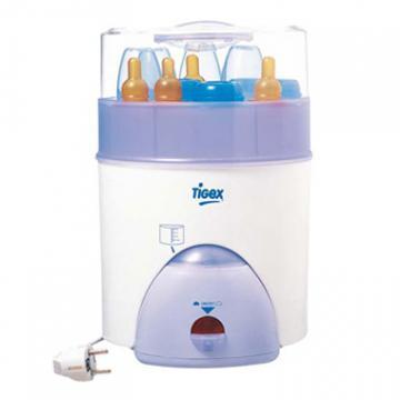 Sterilizator electric pentru 8 biberoane Tigex - Pret | Preturi Sterilizator electric pentru 8 biberoane Tigex