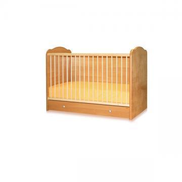 Bertoni - Pat lemn 60/120 CLASSIC 3 laterale pline + cearceaf de pat cadou - Pret | Preturi Bertoni - Pat lemn 60/120 CLASSIC 3 laterale pline + cearceaf de pat cadou