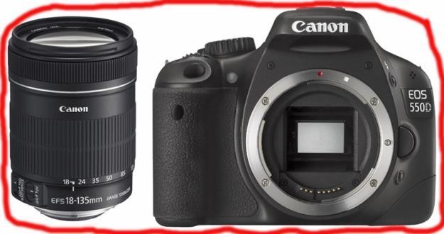 D-SLR CANON EOS 550D KIT 18-135mm IS NOU SIGILAT - Pret | Preturi D-SLR CANON EOS 550D KIT 18-135mm IS NOU SIGILAT