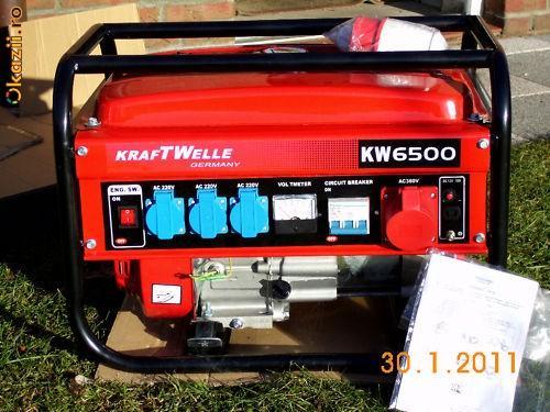 generator kraftwelle germany 6500 kw - Pret | Preturi generator kraftwelle germany 6500 kw