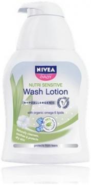 Baby Lotiune de spalat Nutri Sensitive 500ml - Pret | Preturi Baby Lotiune de spalat Nutri Sensitive 500ml
