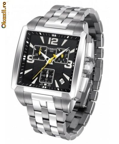vand ceas tissot quadrato nou original T005.517.11.057.00 - Pret | Preturi vand ceas tissot quadrato nou original T005.517.11.057.00