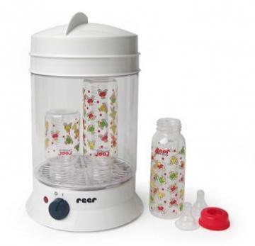 Sterilizator pentru biberoane Vapomat - Reer - Pret | Preturi Sterilizator pentru biberoane Vapomat - Reer