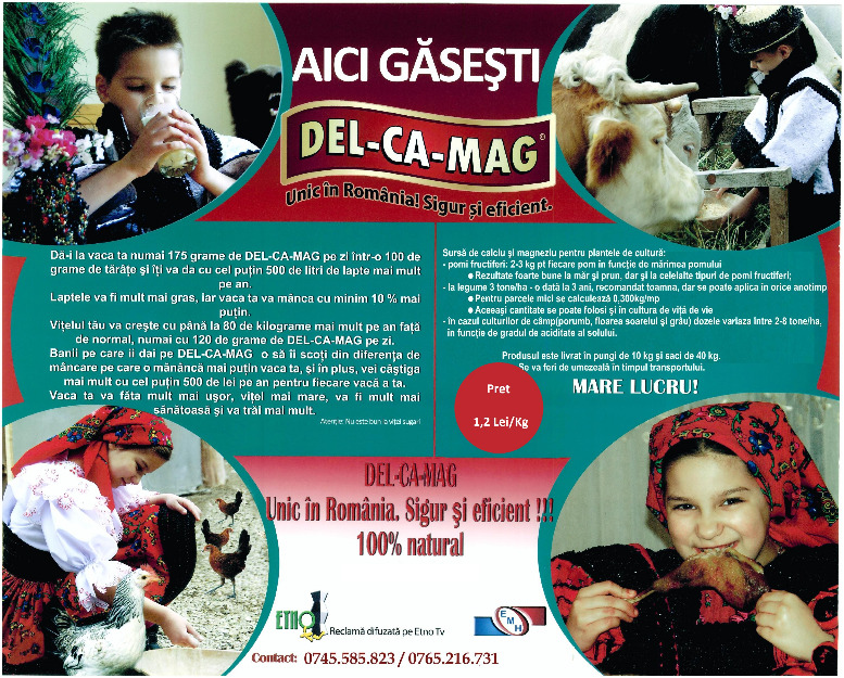 Delcamag dolomita amorfa distribuitor del ca mag for Ca mag