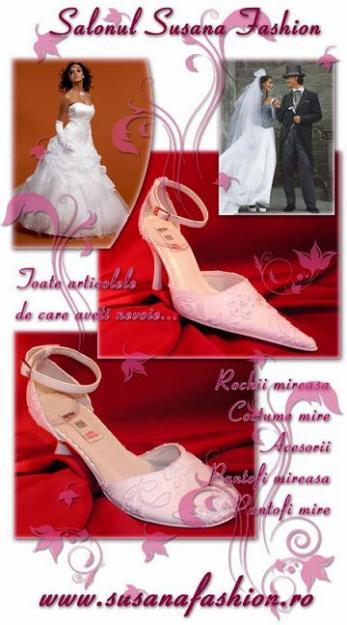 Pantofi de mireasa comanda acum ONLINE - Pret   Preturi Pantofi de mireasa comanda acum ONLINE