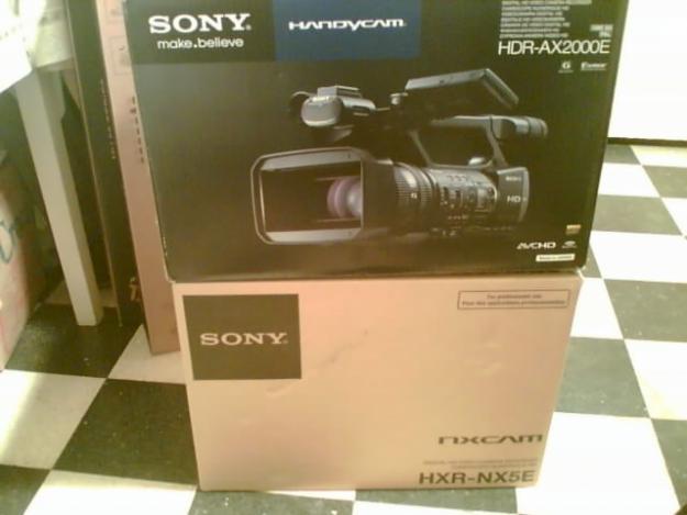 Camere video. Sony AX2000 , Sony NX5M , Sony NX5E , Sony EX1R . Pret Final . - Pret | Preturi Camere video. Sony AX2000 , Sony NX5M , Sony NX5E , Sony EX1R . Pret Final .