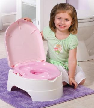 Olita All-in-One Potty Seat & Step Stool Pink - Summer Infant - Pret | Preturi Olita All-in-One Potty Seat & Step Stool Pink - Summer Infant