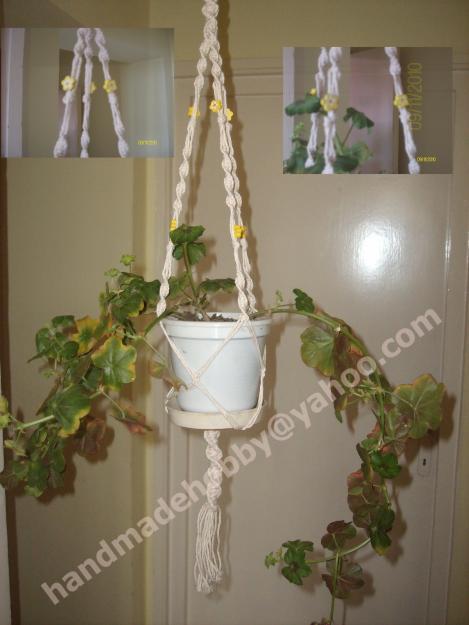 Suport agatator pentru ghiveci flori - Pret | Preturi Suport agatator pentru ghiveci flori