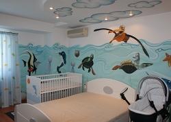 Pictura murala – camere de copii – birouri/cabinete – spatii publice - Pret | Preturi Pictura murala – camere de copii – birouri/cabinete – spatii publice