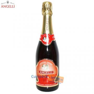 Vin spumant Angelli Cherry Cocktail 0.75 L - Pret | Preturi Vin spumant Angelli Cherry Cocktail 0.75 L