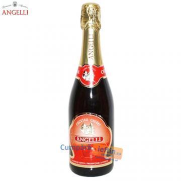 Vin spumant Angelli Cherry Cocktail 0.75 L - Pret | Preturi Vin spumant Angelli Cherry Cocktail 0.75 L