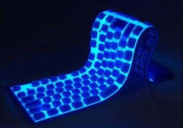 Gadget Tastaura USB Bendi Board Light Up - Pret | Preturi Gadget Tastaura USB Bendi Board Light Up
