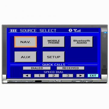Monitor Alpine TME-M740BT - Pret | Preturi Monitor Alpine TME-M740BT