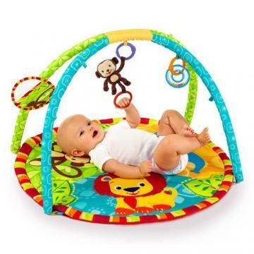 Bright Starts - Centru de Joaca Prietenii Junglei - Pret | Preturi Bright Starts - Centru de Joaca Prietenii Junglei