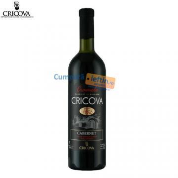 Vin demisec Cabernet rosu 0 75 L  Cricova - Pret | Preturi Vin demisec Cabernet rosu 0 75 L  Cricova