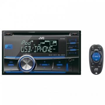 JVC KW-R500EY - Receptor USB/CD 2DIN, iPod/iPhone, compatibil BT, 4x50W MOS-FET, telecomanda - Pret | Preturi JVC KW-R500EY - Receptor USB/CD 2DIN, iPod/iPhone, compatibil BT, 4x50W MOS-FET, telecomanda
