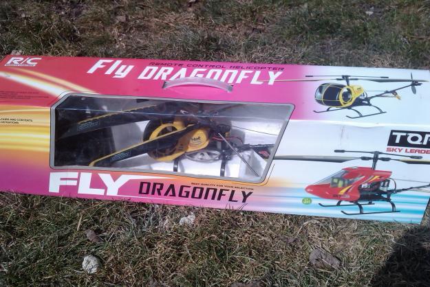 Elicopter radiocomandat Fly Dragonfly - Pret   Preturi Elicopter radiocomandat Fly Dragonfly