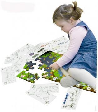 Puzzle de podea educativ cu numere 40 piese - Pret | Preturi Puzzle de podea educativ cu numere 40 piese