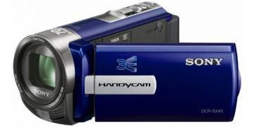 Sony DCR-SX45 - Albastru + Transport Gratuit - Pret   Preturi Sony DCR-SX45 - Albastru + Transport Gratuit