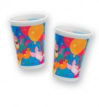 Winnie Birthday - Pahare Plastic, 200 ml (10 buc.) - Pret | Preturi Winnie Birthday - Pahare Plastic, 200 ml (10 buc.)