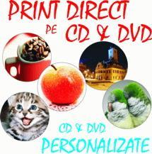 Print Direct pe CD & DVD - Pret | Preturi Print Direct pe CD & DVD