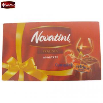 Praline de ciocolata asortate Novatini 140 gr - Pret | Preturi Praline de ciocolata asortate Novatini 140 gr
