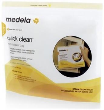 Pungi sterilizare la microundeQuickClean - Pret | Preturi Pungi sterilizare la microundeQuickClean