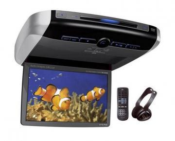 Alpine Overhead LCD Monitor With DVD Player PKG-2100P - Pret   Preturi Alpine Overhead LCD Monitor With DVD Player PKG-2100P
