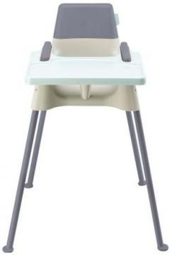 "Scaun de masa ""Seaty"" gri-bleu - Pret | Preturi Scaun de masa ""Seaty"" gri-bleu"