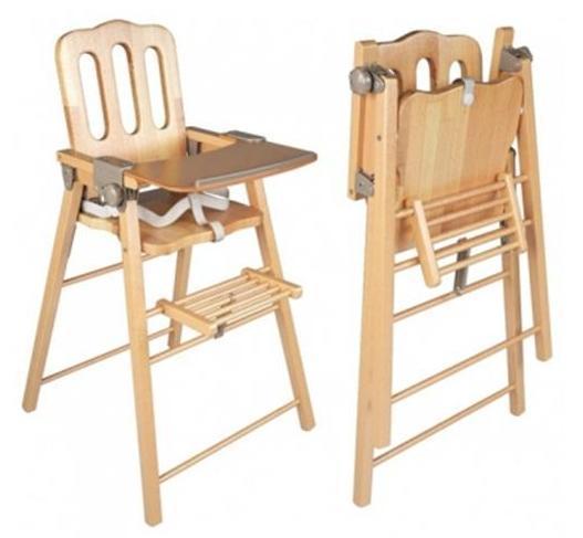 Strollers Scaun pliant din lemn George pentru bebe - Pret | Preturi Strollers Scaun pliant din lemn George pentru bebe