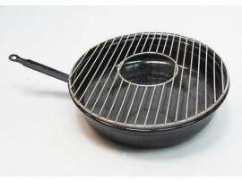 Grill pentru aragaz cu gratar nichelat - Pret | Preturi Grill pentru aragaz cu gratar nichelat