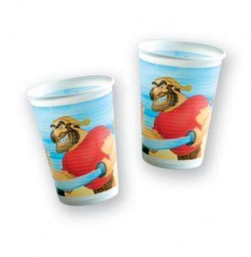 Disney Pirates - Pahare Plastic, 200 ml (10 buc.) - Pret | Preturi Disney Pirates - Pahare Plastic, 200 ml (10 buc.)